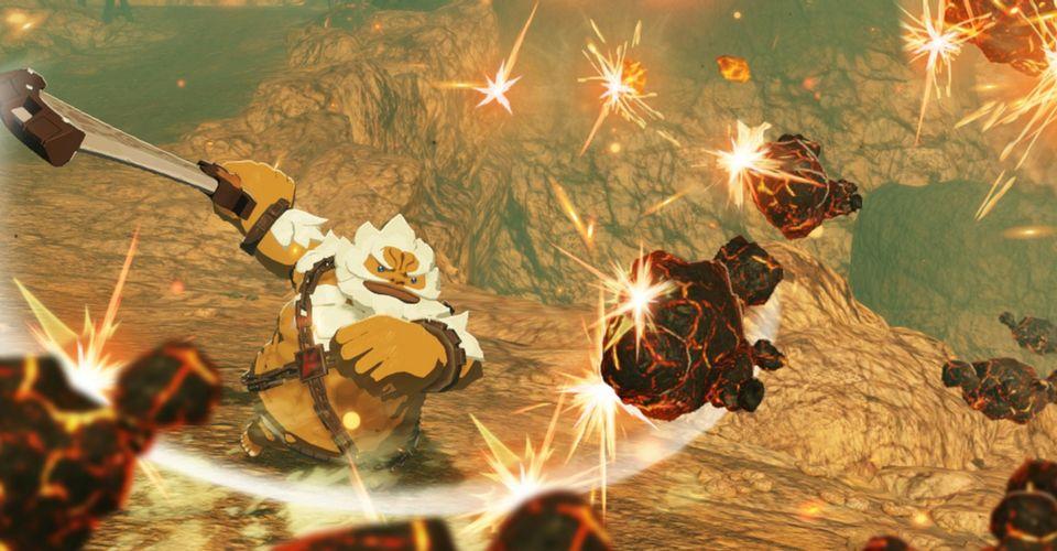 Hyrule Warriors Age Of Calamity Mira Las Primeras Imagenes De Daruk En Accion Cultura Geek