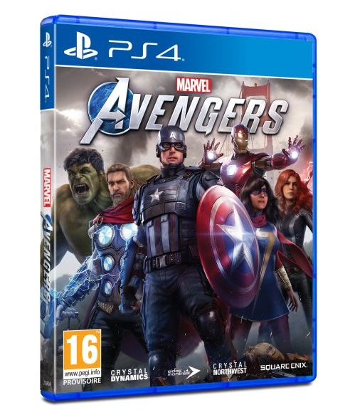 Marvel´s Avengers PS4 cover
