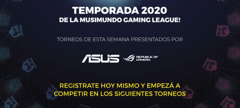 Musimundo gaming league