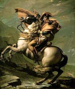 Napoleón en San Bernardo