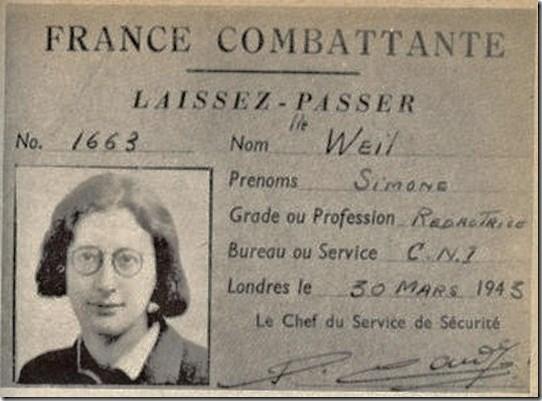 Simone Weil 2