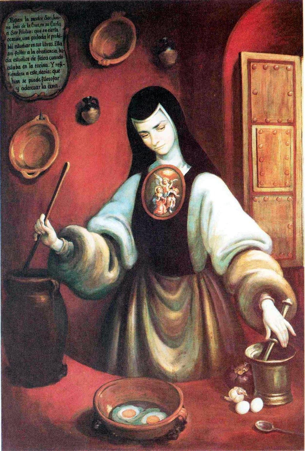 Sor Juana Ines de la Cruz recitas cocina 2