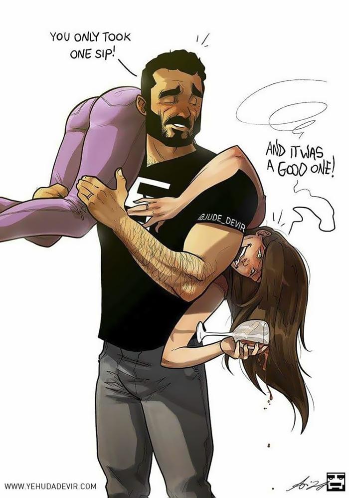 Yehuda Adi Devir ilustraciones de amor 13