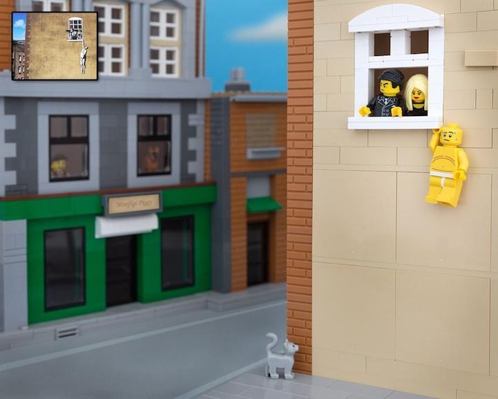Banksy LEGO 10