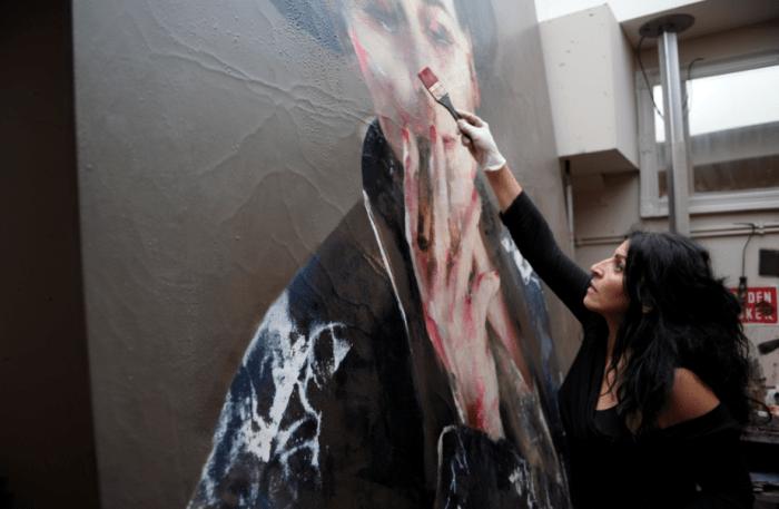 Lita Cabellut la pintora mas cotizada
