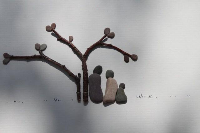 Sharon Nowlan sencillas esculturas piedras 14