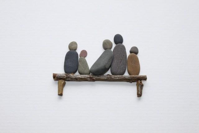 Sharon Nowlan sencillas esculturas piedras 4