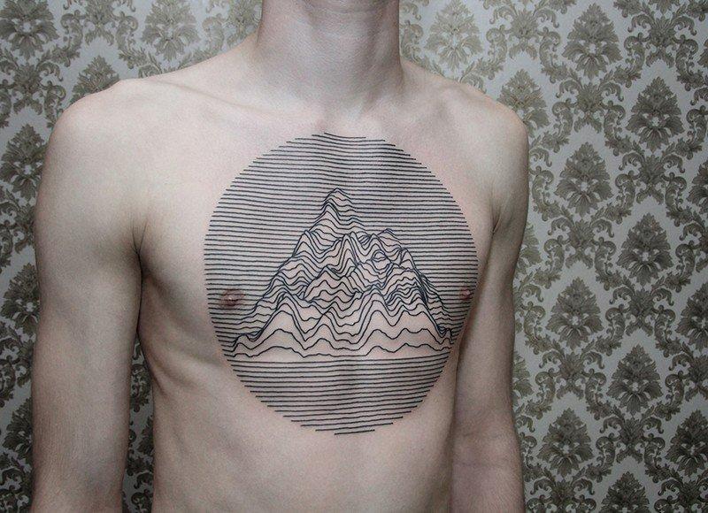 Tatuajes Geométricos Con Diseños Lineales Minimalistas Cultura
