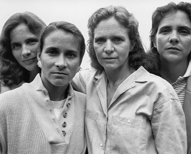 Nicholas Nixon hermanas Brown 12