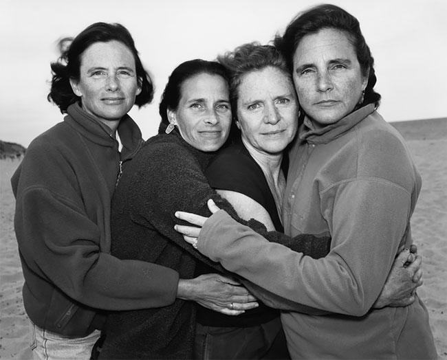 Nicholas Nixon hermanas Brown 25