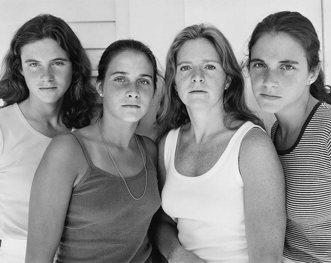 Nicholas Nixon hermanas Brown 3