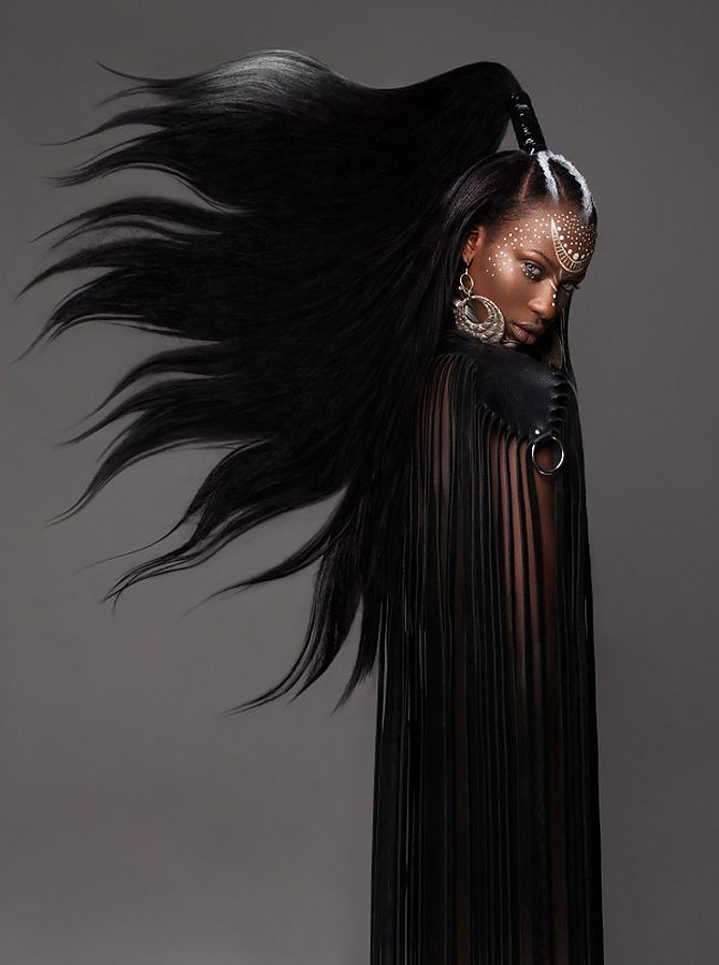 Lisa Farrall peinados africanos