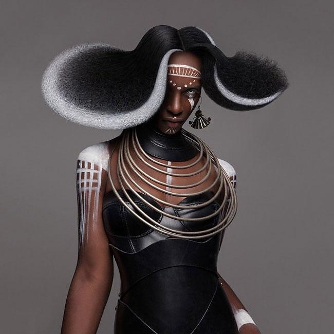 Lisa Farrall peinados africanos 3