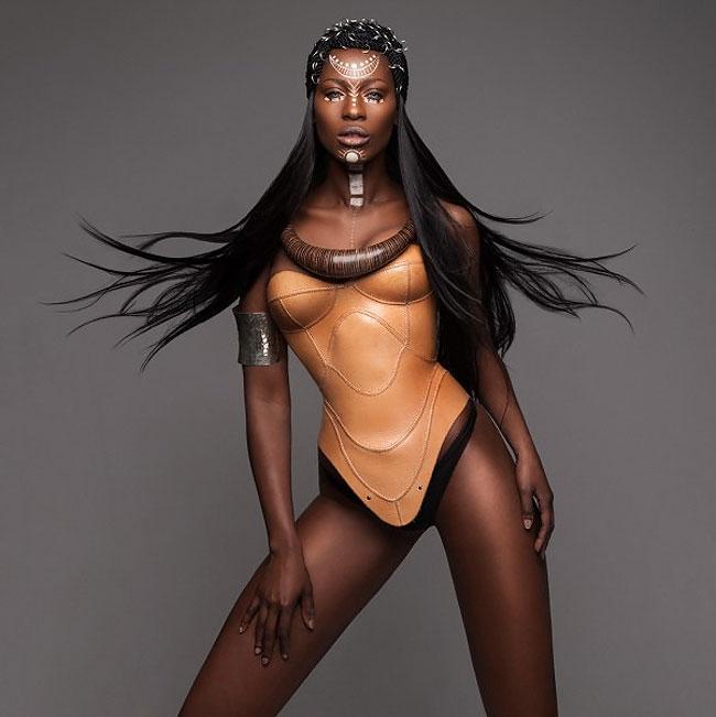 Lisa Farrall peinados africanos 5