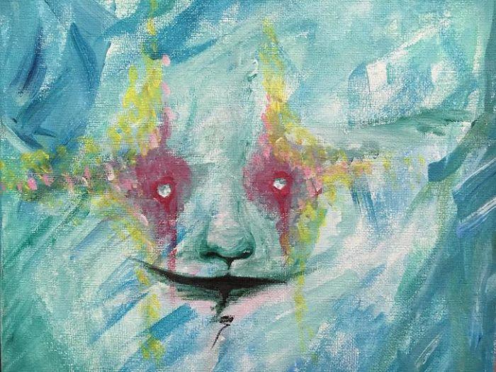 Awkward Apostrophe arte y esquizofrenia 6