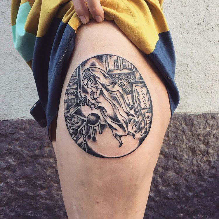 art history tattoos culturainquieta21