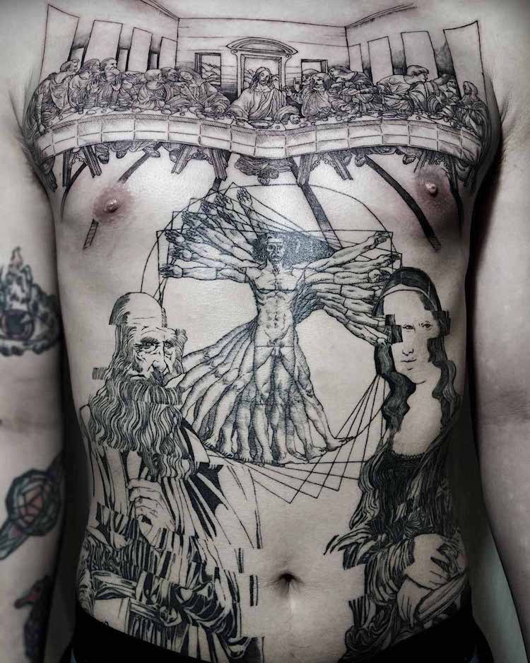 art history tattoos culturainquieta27