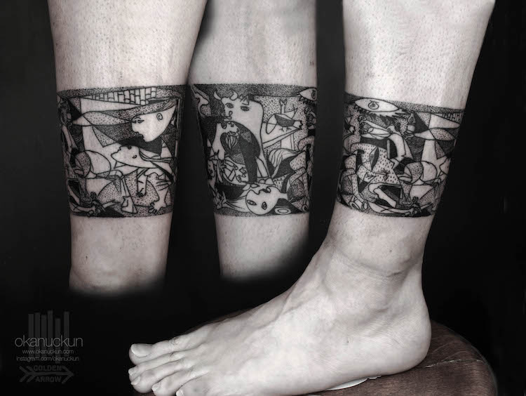 art history tattoos culturainquieta3