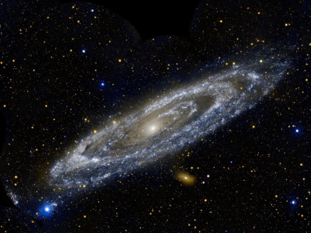galaxia andromeda nasa 7
