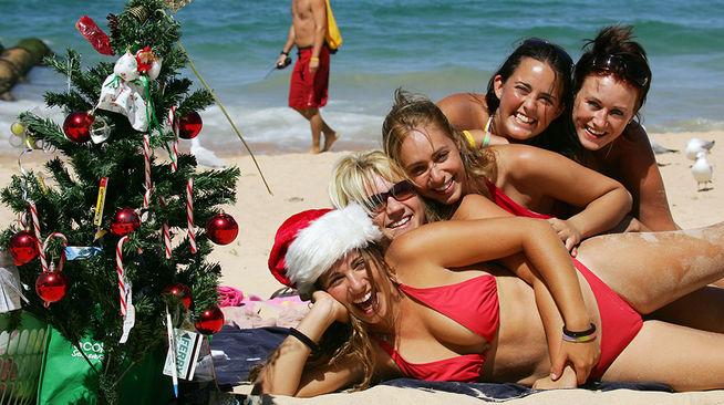 Navidad en el verano australiano