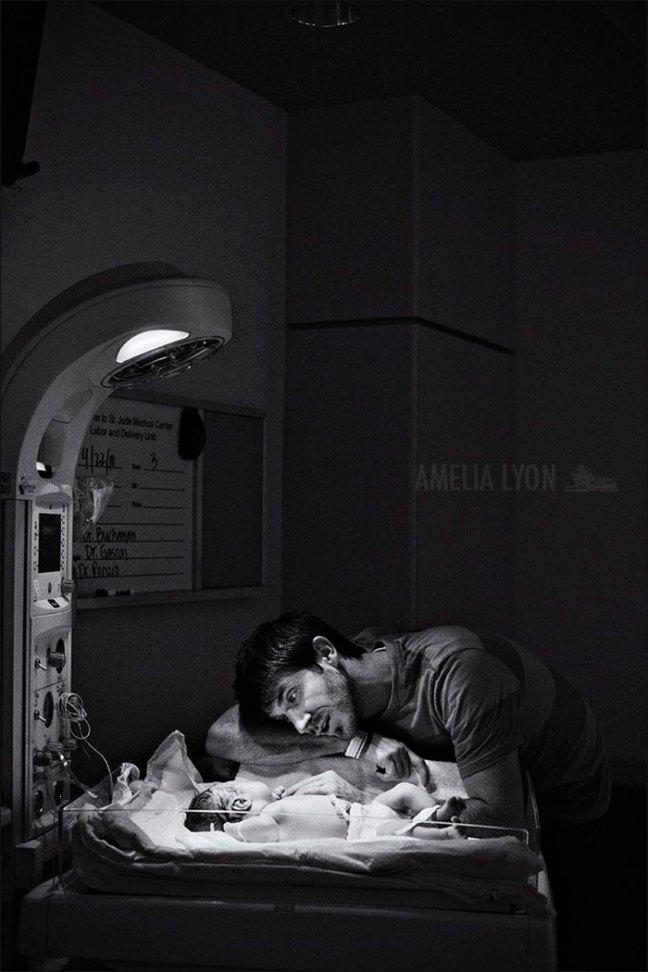 padres partos nacimiento 13