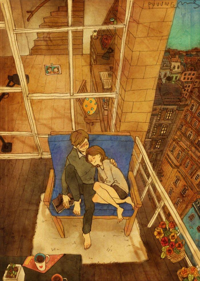 Puuung ilustraciones amor2