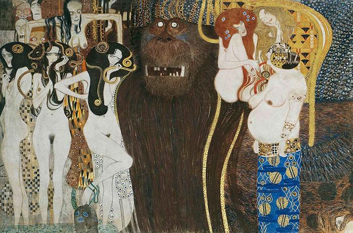 Inge Prader Gustav Klimt LifeBall Vienna
