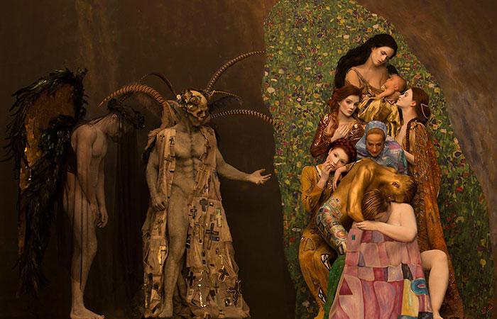 Inge Prader Gustav Klimt LifeBall Vienna10
