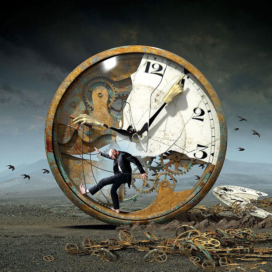 Igor Morski oscuras surrealistas ilustraciones 8