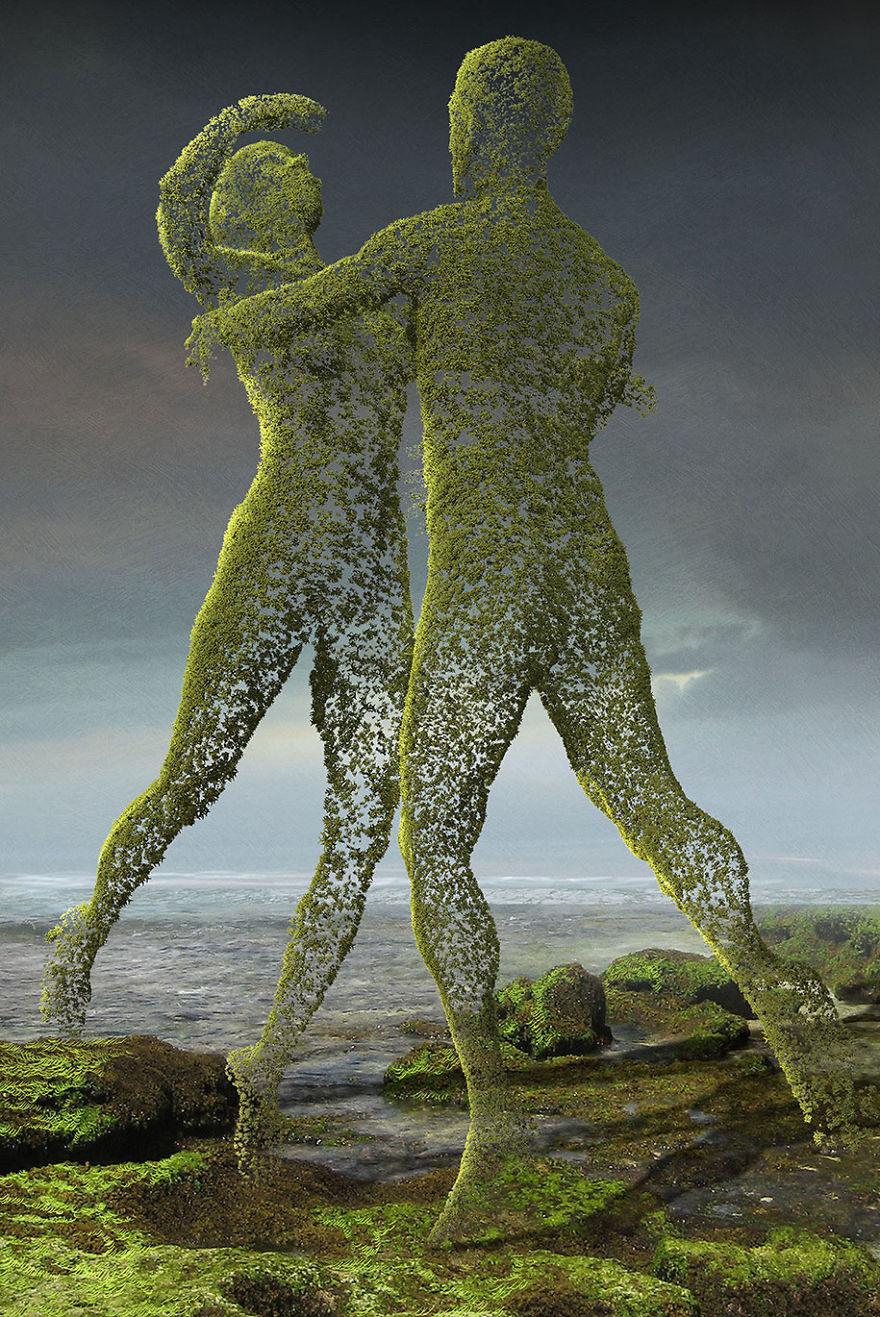 Igor Morski oscuras surrealistas ilustraciones 9