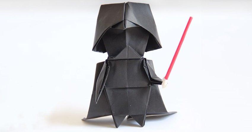 Origami Darth Vader Tadashi Mori