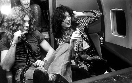 Led Zeppelin private jet1