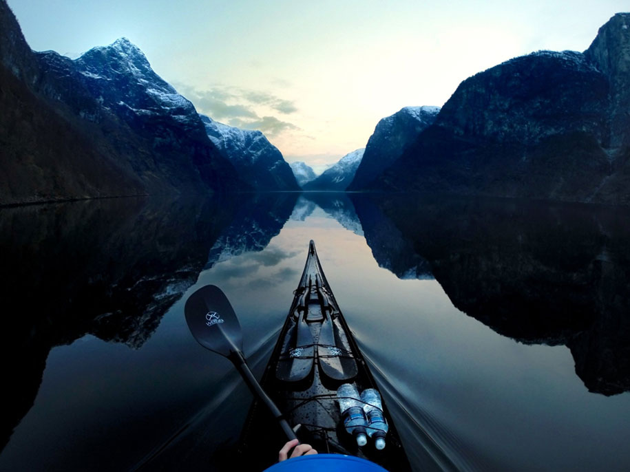 Tomasz Furmanek Fjord fiordo kayak