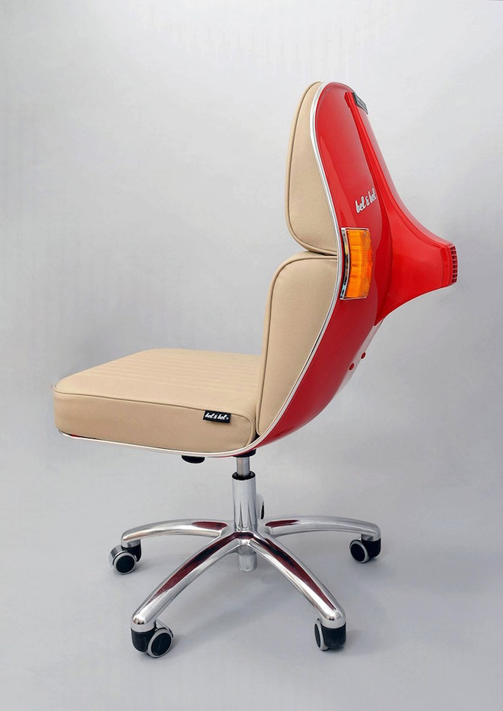 Bel Bel Vintage Vespa design chair 10