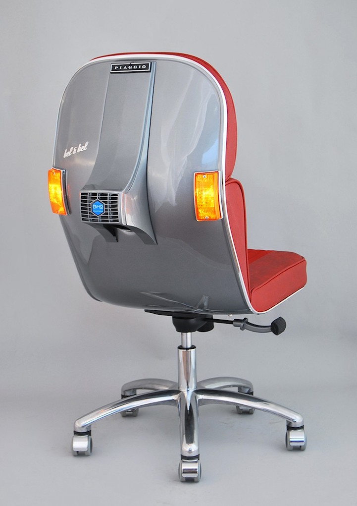 Bel Bel Vintage Vespa design chair 9