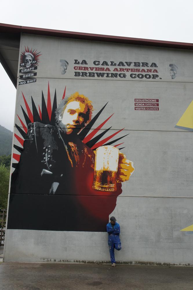 rotten La calavera beer