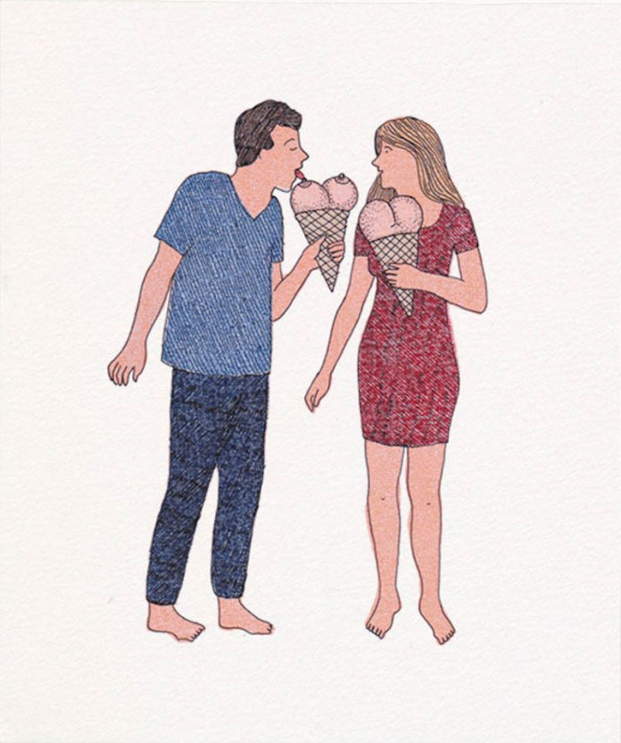 Marion Fayolle poema visual satira Cultura Inquieta 5