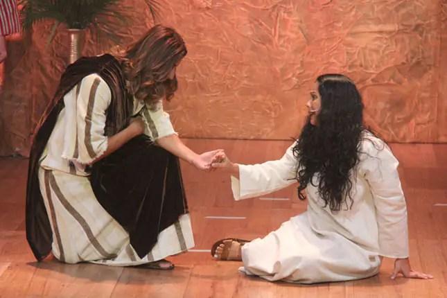 Auto da Paixão de Cristo ganha ares de musical da Broadway - FOTO: Fundação Cesgranrio