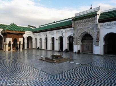 Inside University of Al Quaraouiyine - Fez