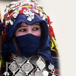 Imilchil Marriage Festival in Ait Hdidou tribes in High Atlas Mountains in Morocco (2/4)