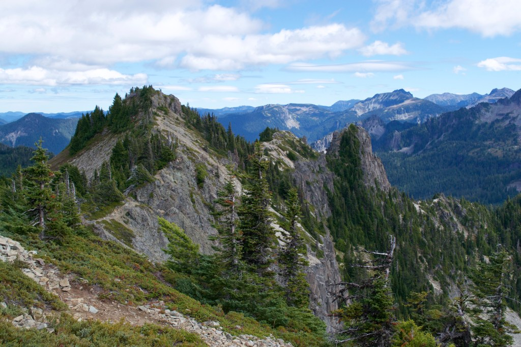 Tolmie Peak, Mt. Rainier National Park, Washington
