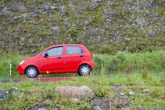 Red Spark Rental Car, Ecuador