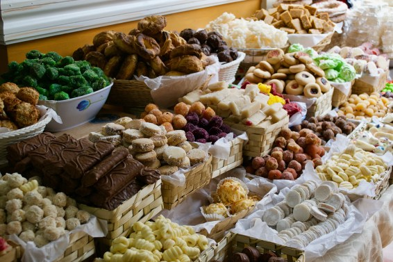 Ecuador loves its sweets - most made from coconut, sugar and almonds