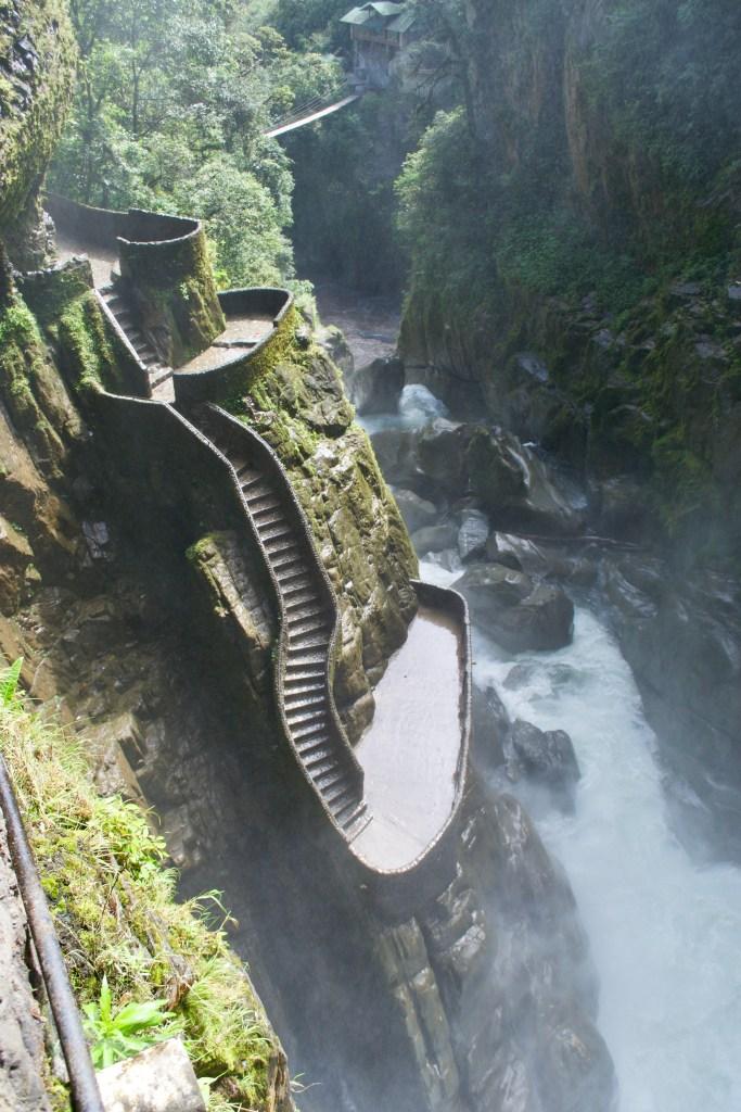 Pailon Del Diablo Waterfall, Ecuador