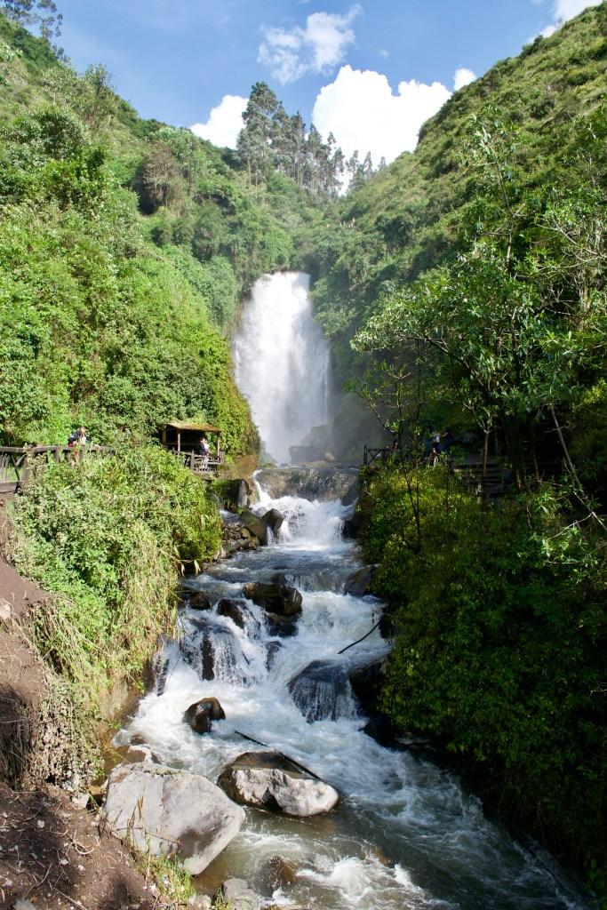 Peguche Waterfall - Otavalo, Ecuador