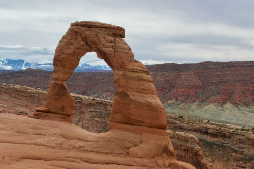 Delicate arch, the most famous of Arches