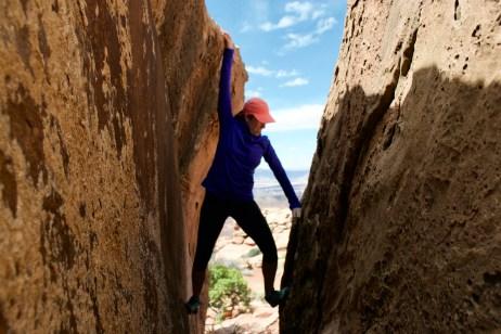 Some fun climbing