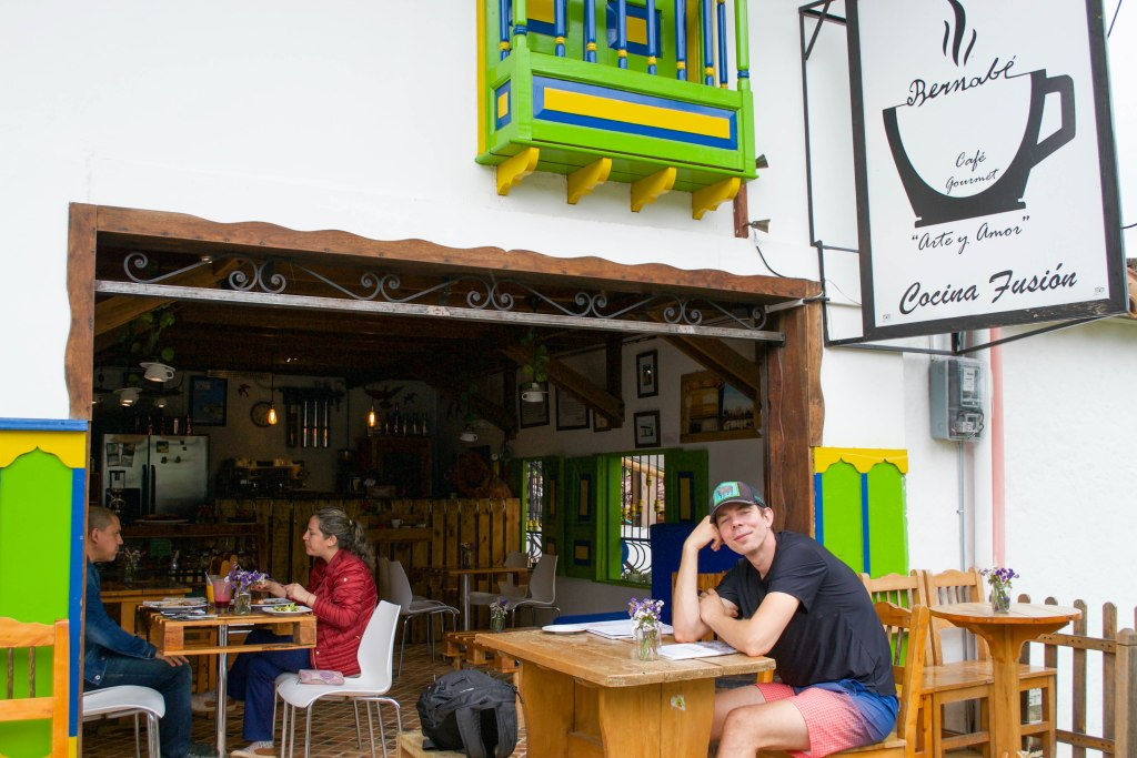 Bernabe Restaurant, Salento, Colombia