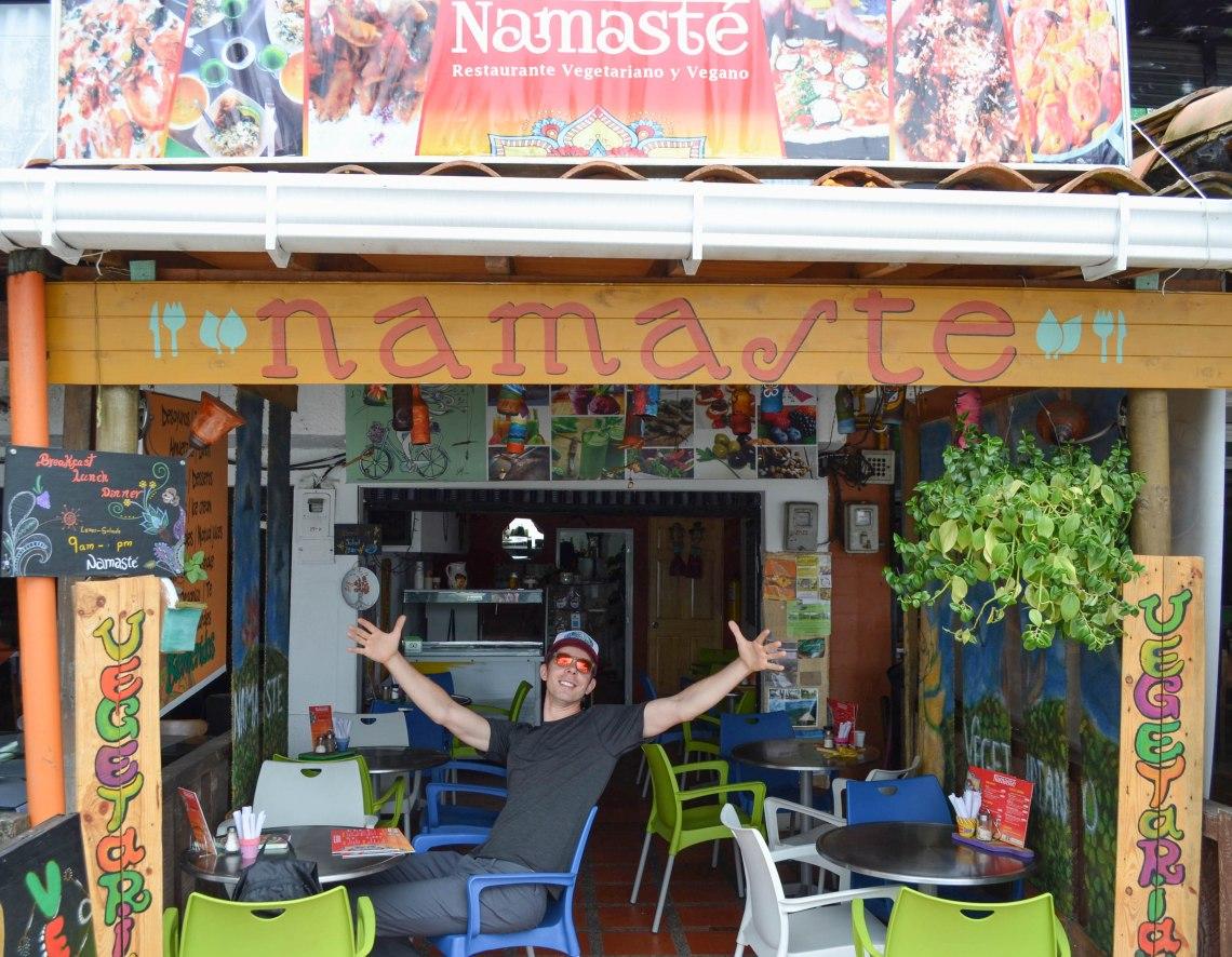 Namaste Cafe, Salento, Colombia