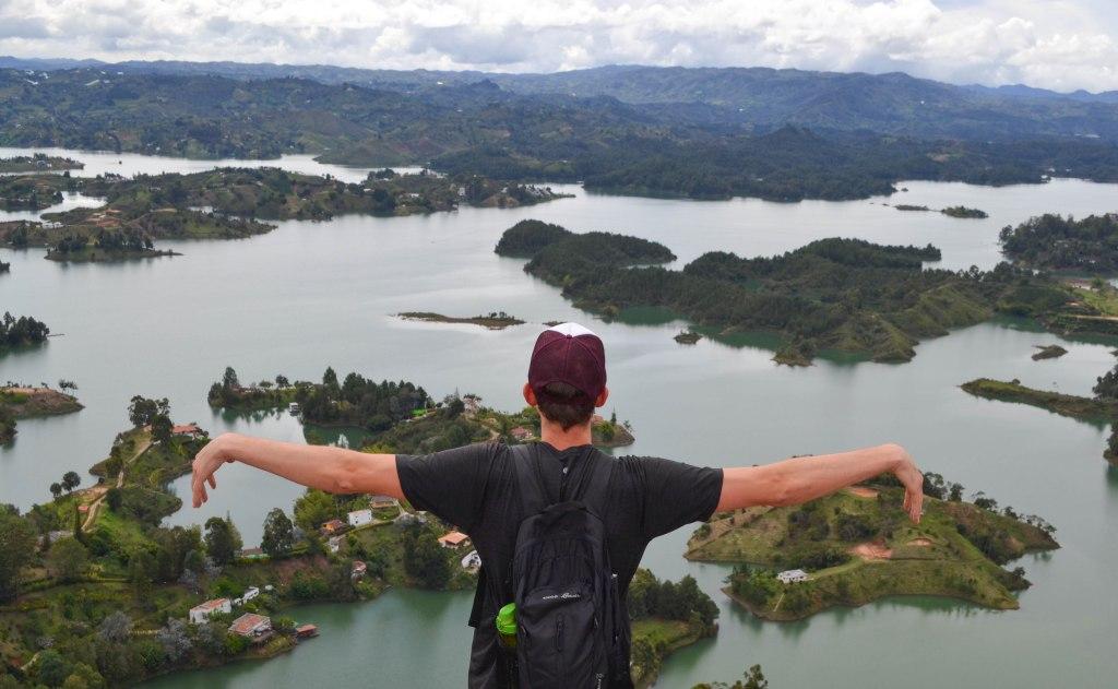 El Penon de Guatape, Colombia